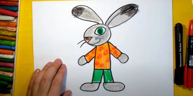 Làm thế nào để vẽ một con thỏ rừng: cắt lời khuyên của đôi tai