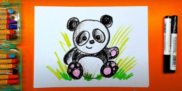 Мультфильм панда