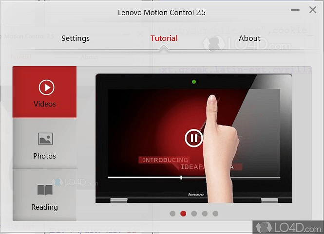 Motion Control Lenovo Tutorial