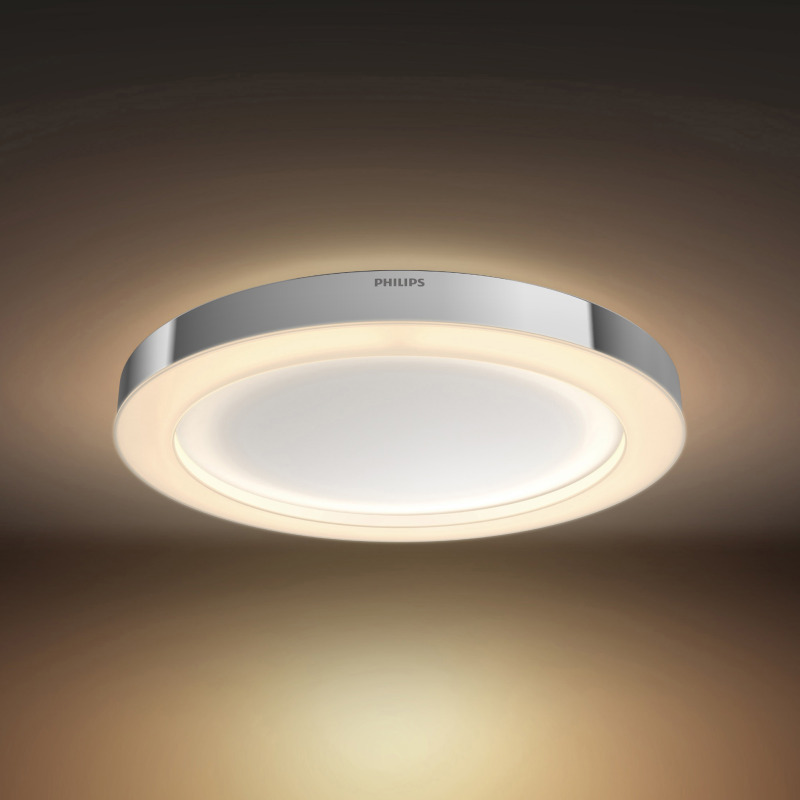 Philips Hue Adore Led Ceiling Light Chrome Ceiling