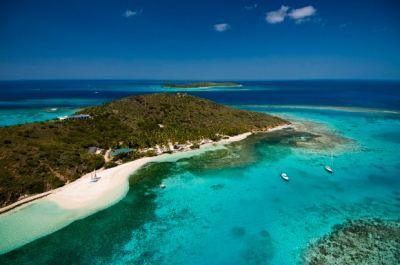 Rent Eustatia Island in the British Virgin Islands