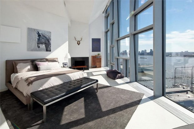 New York Luxury Penthouse Bedroom