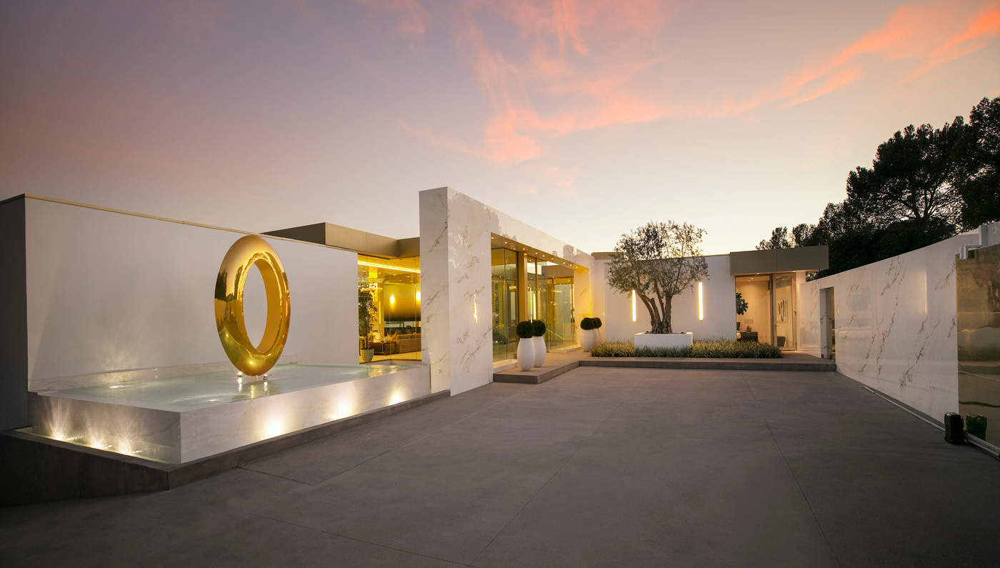 Beverly Hills Opus Estate Is A Work Of Art In More Ways
