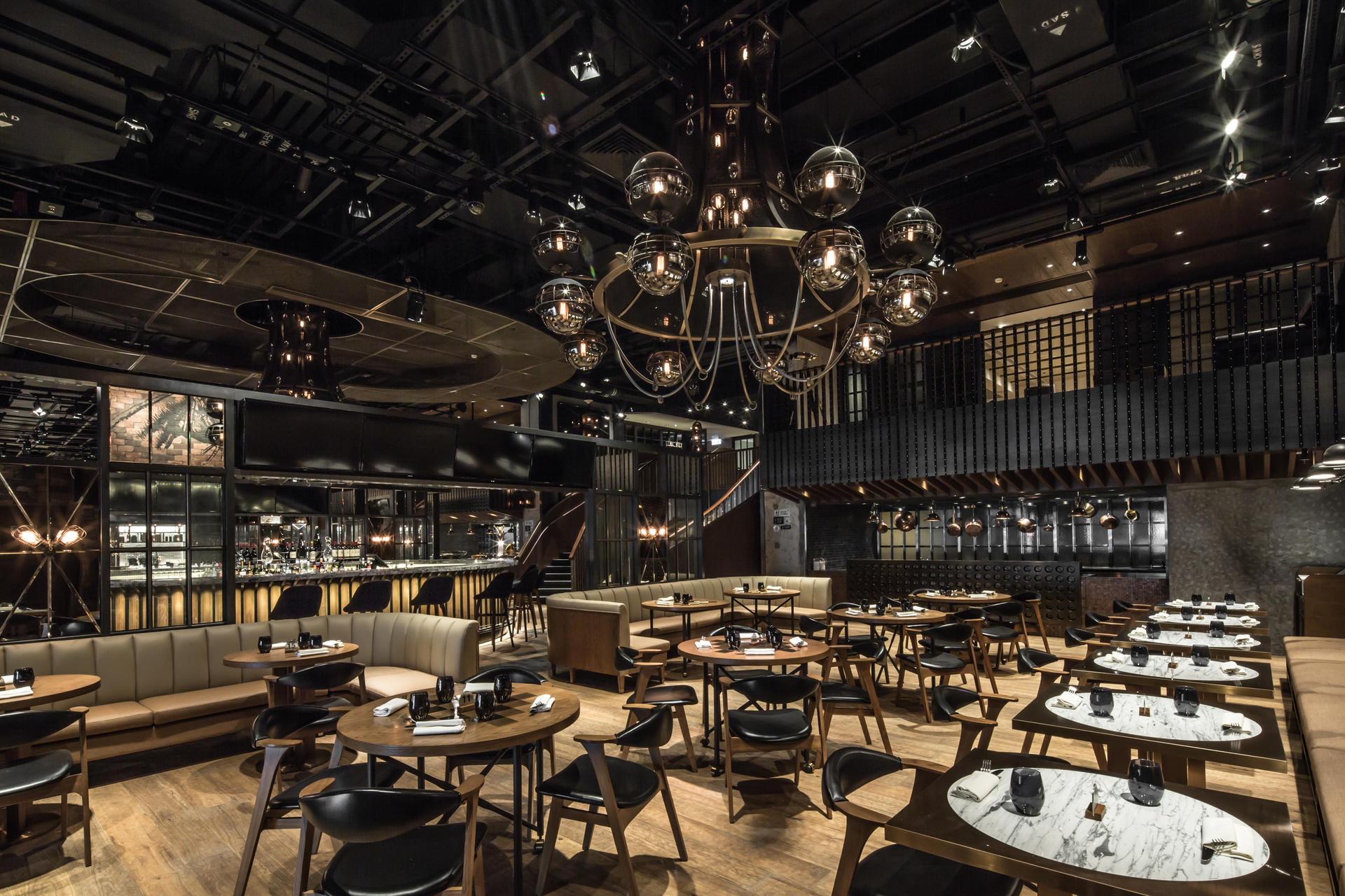 Hong Kong Restaurant Named The Best Interior Of 2014