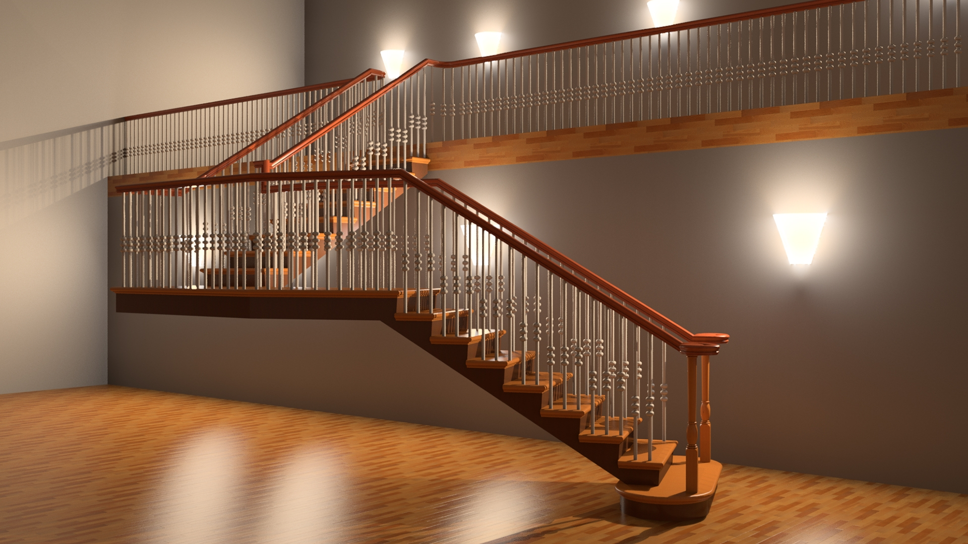 Adding A U Shaped Winder And Spiral Stair   Converting Spiral Staircase To Straight   Wood   House   Stair Case   U Shaped   Loft Conversion