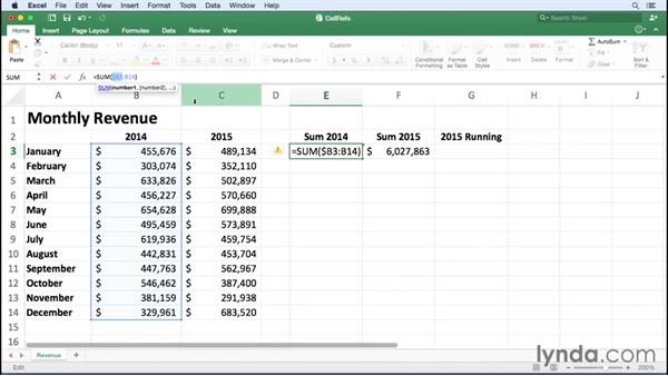 How Excel Relative Cell Reference