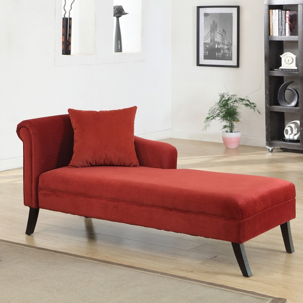 Best Sofas And Couches For Small Spaces  9 Stylish Options A Patterson Chaise by Armen Living