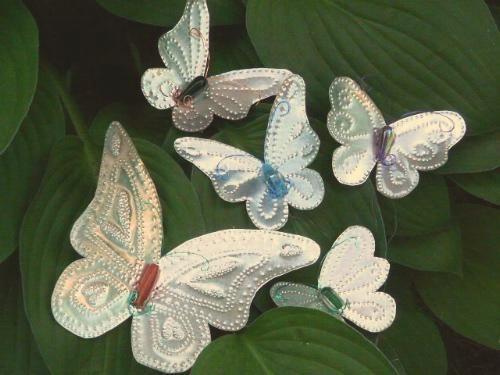 Como Hacer Mariposas De Liston