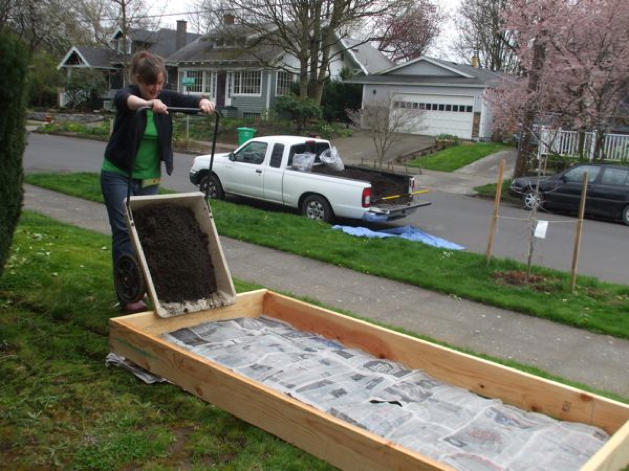 Build Your Own Raised Bed