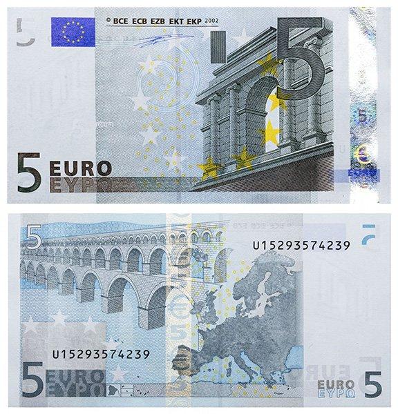 5 Euro 2002