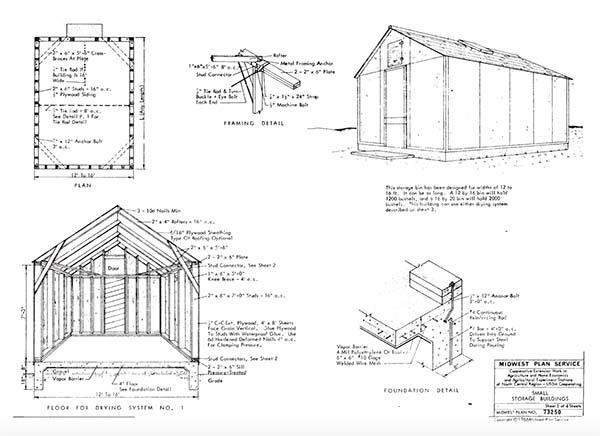 Telephone Pole Barn Plans
