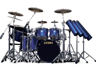 Tama Stewart Copeland Signature drum kit   MusicRadar Sting doesn t have toys like these