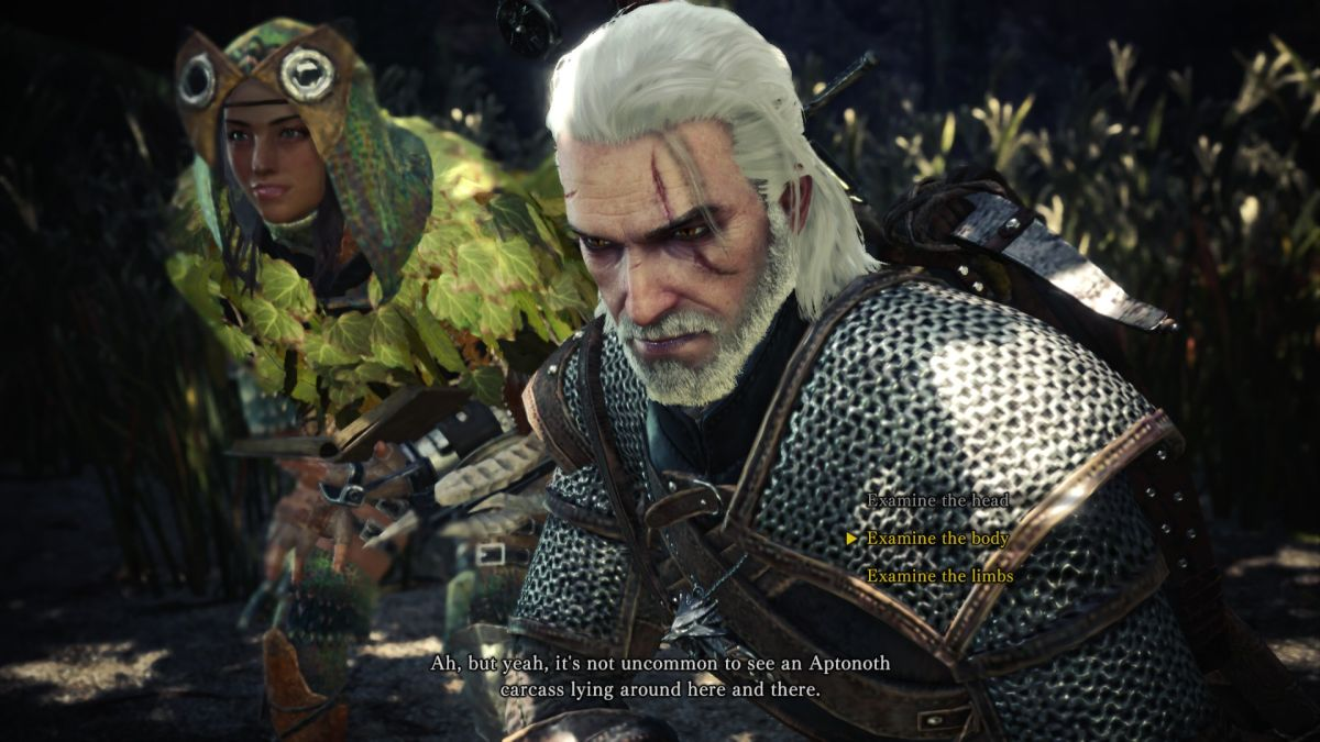 Monster Hunter World S Witcher Event Has Begun On Pc Pc