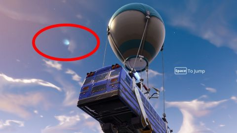 Is Fortnite Battle Royale about to get hit by a comet  These fans     The next time you have a few spare seconds between bashing trees and  shotgunning fools in Fortnite Battle Royale  cast your gaze toward the  stars