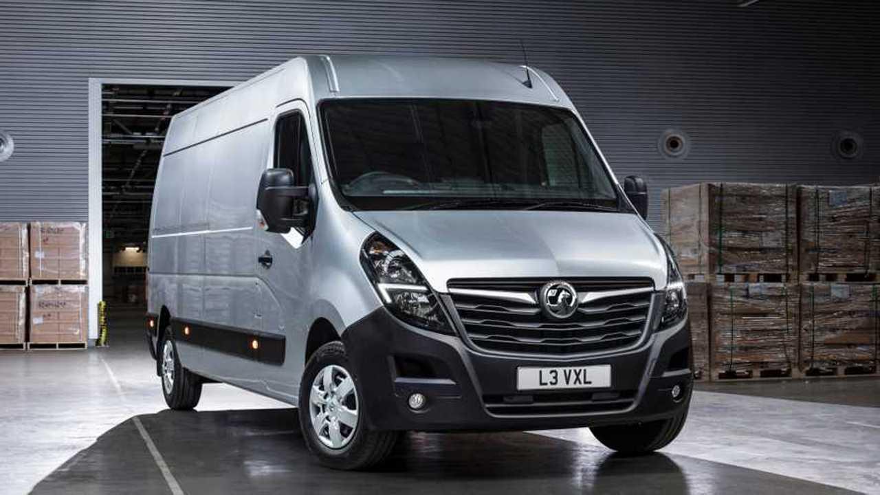 Vauxhall S New Movano Van Breaks Cover