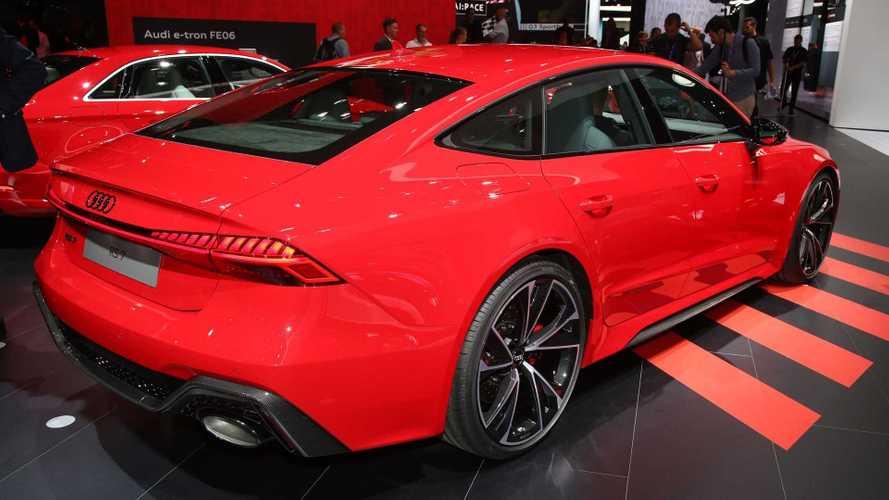 2020 Audi Rs7 Sportback At The 2019 Frankfurt Motor Show