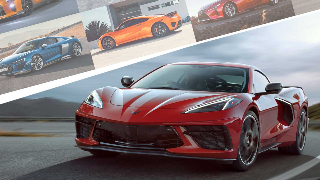 2020 Chevrolet Corvette Vs Its Primary Competitors