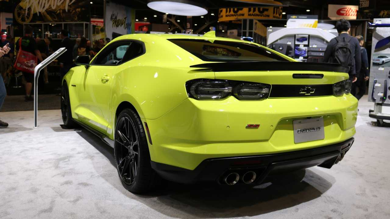 2019 Chevy Camaro Gets A Shocking Makeover For SEMA [UPDATE]