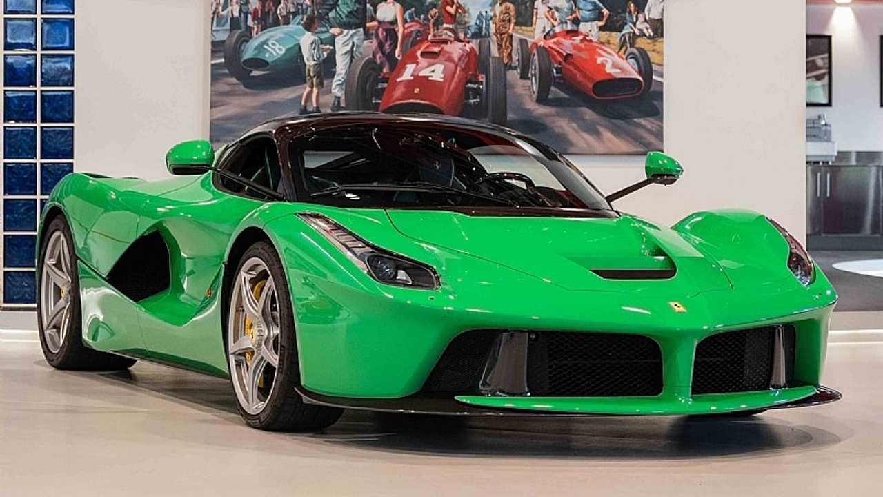 Jay Kay S Green Laferrari Is For Sale