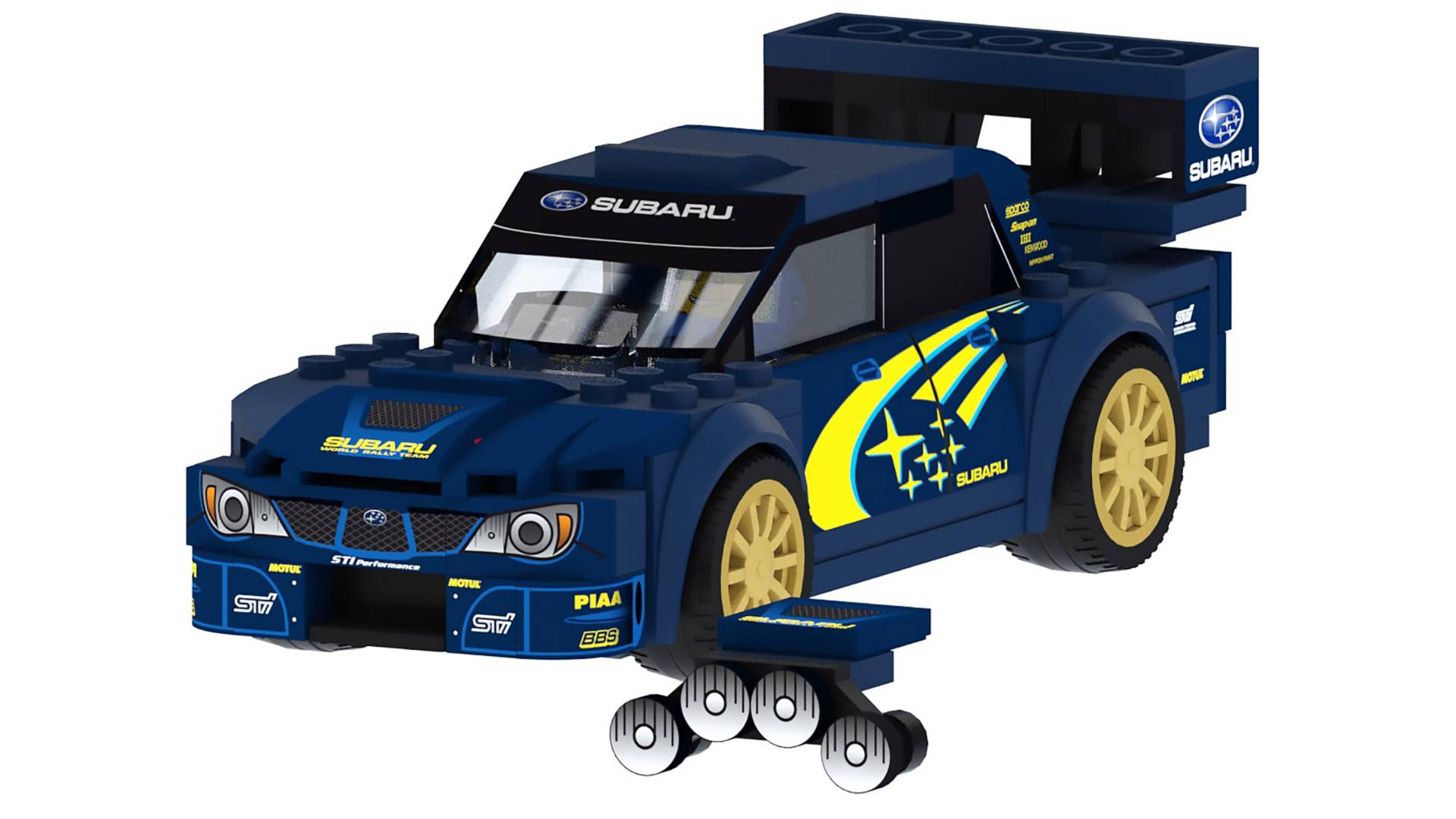 Dear Lego  Please Make This 2006 Subaru WRX STI WRC Rally Car