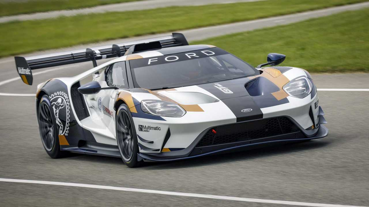 Watch The Ford Gt Mk Ii In Track Action