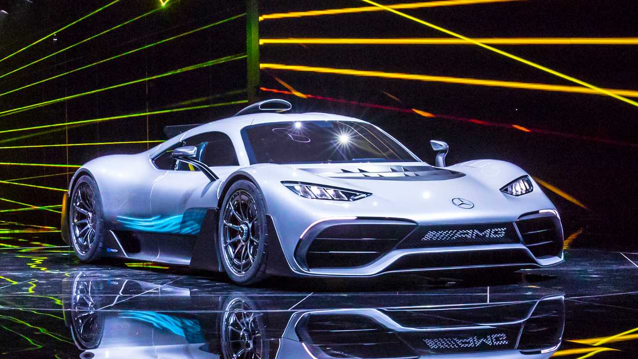 Rare Chance To Hear The Mercedes Amg One Sounds Like An
