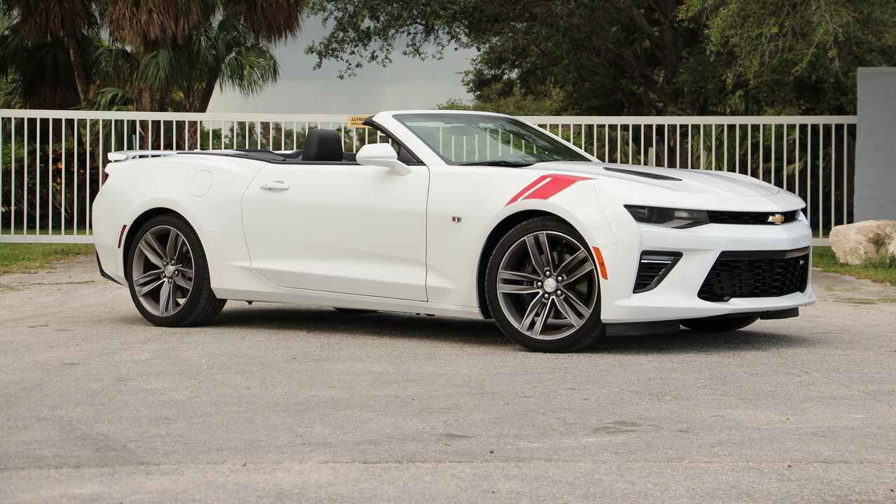 2018 Chevrolet Camaro SS Convertible Review: Win, Place, Show