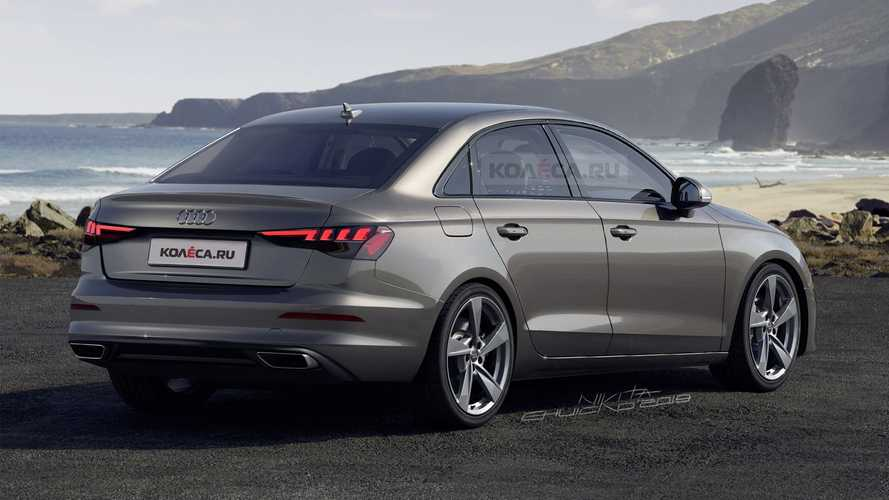 2021 Audi A3 Sedan Rendering Motor1 Com Photos
