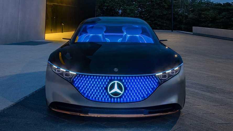Mercedes Benz Vision Eqs 2019 Motor1 Com Photos