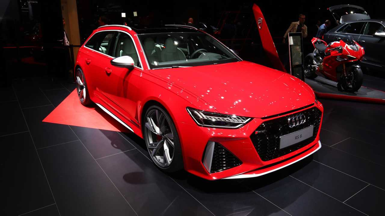 Audi Rs6 Avant Looks Red Hot At The 2019 Frankfurt Motor Show