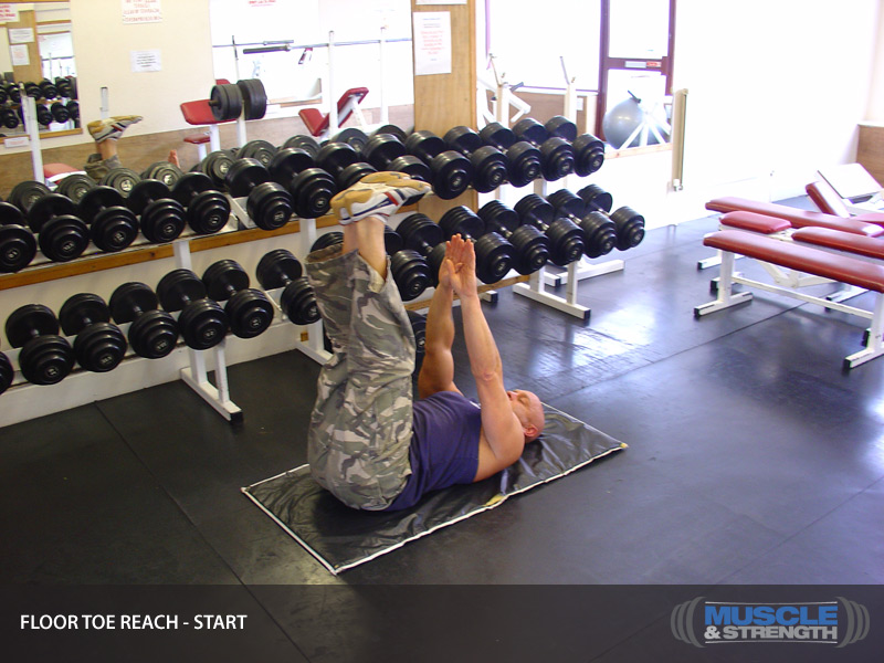 Floor Toe Reach Video Exercise Guide Amp Tips