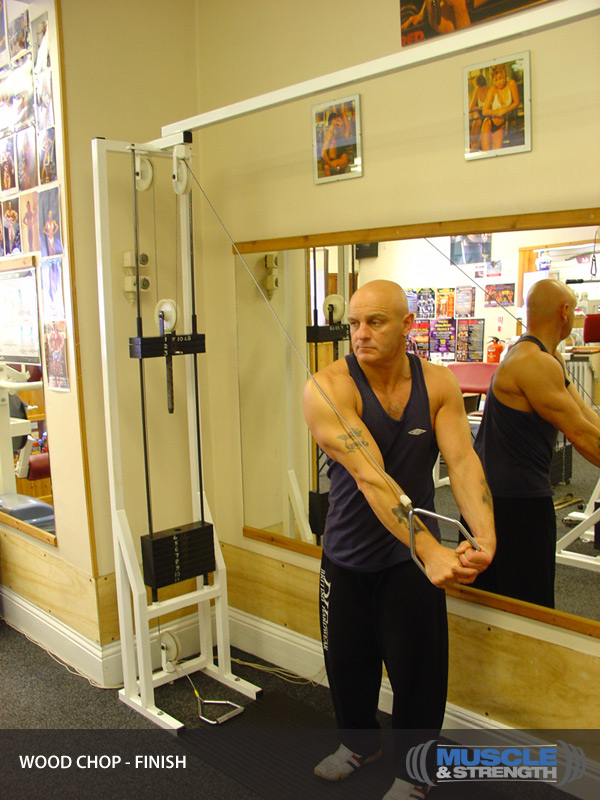 Wood Chop Video Exercise Guide Amp Tips Muscle Amp Strength