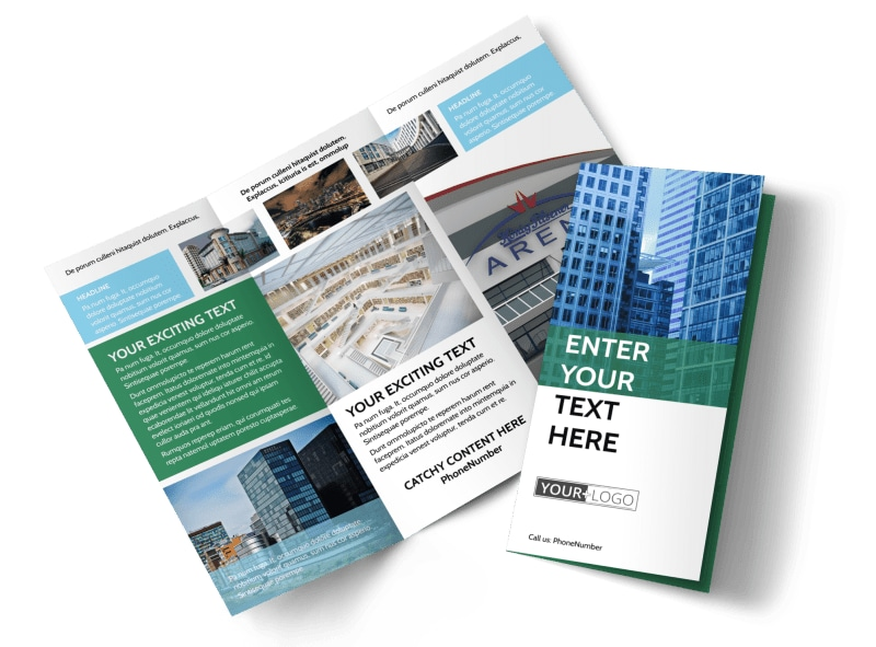 Commercial Real Estate Brochure Template   MyCreativeShop Commercial Real Estate Brochure Template