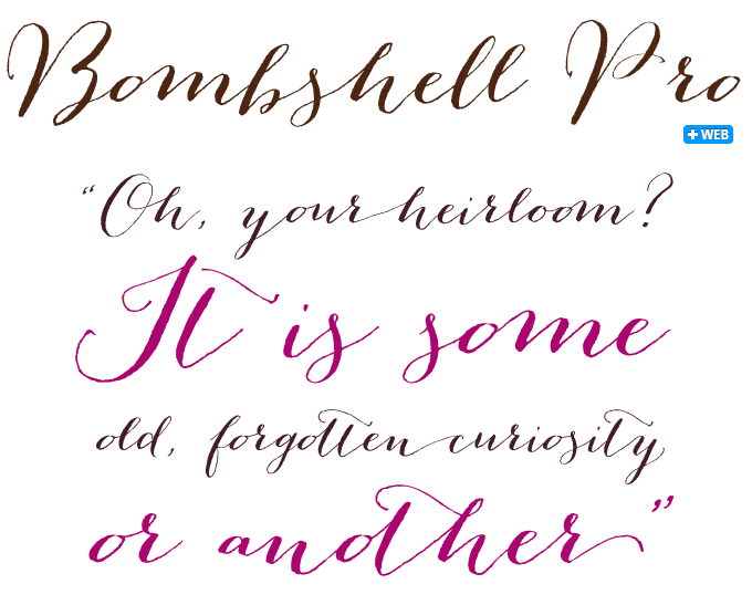 Script Font 19th Century