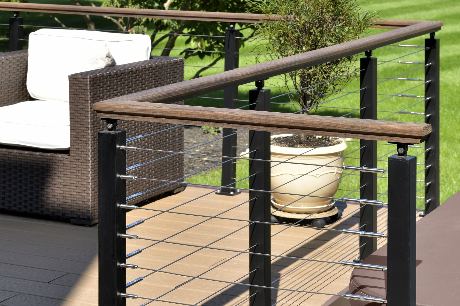 Stair Systems Stairs Stair Parts Newels Balusters And   Custom Handrails Near Me   Staircase   Ornamental Iron   Balusters   Glass   Deck Railing