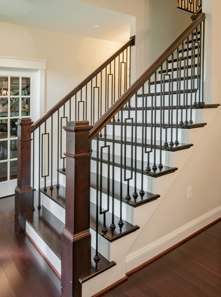 Iron Stairways Systems Lj Smith Stair Systems | Iron Spindles For Staircase | Simple | Modern 2019 Staircase | Farmhouse Style | Arched Metal | Basket