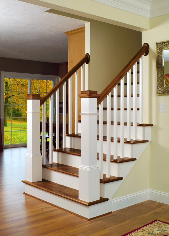 Wood Stairways Lj Smith Stair Systems | Newel Posts And Spindles | Custom | Craftsman Style | Lj Smith | Starting | Metal