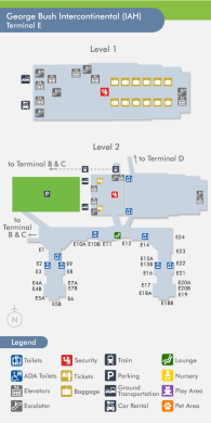 houston airport terminal a map » ..:: Edi Maps ::.. | Full HD Maps