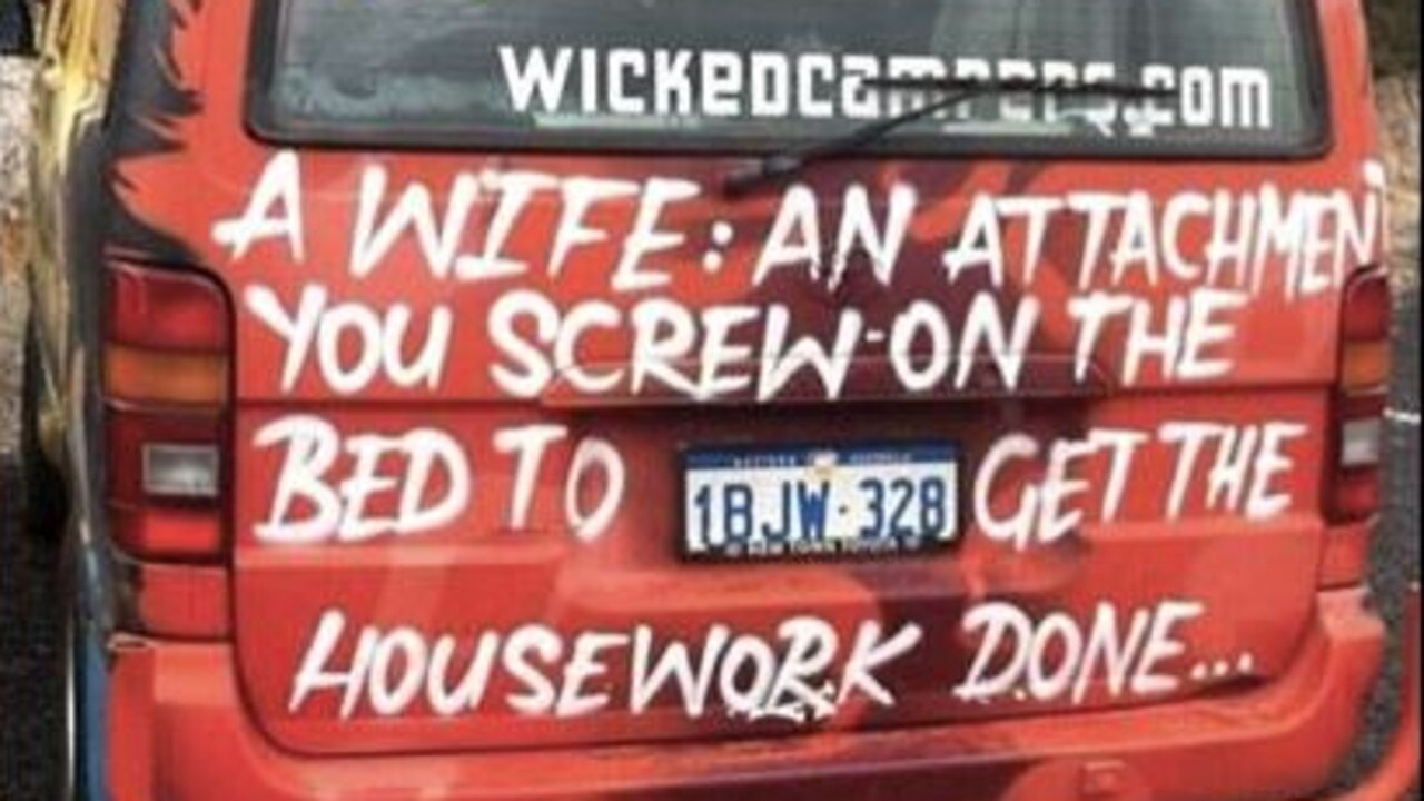 Wicked Campers Sexist Slogans Should Be Banned Susanne