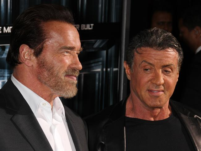 Arnold And Stallone Hospital