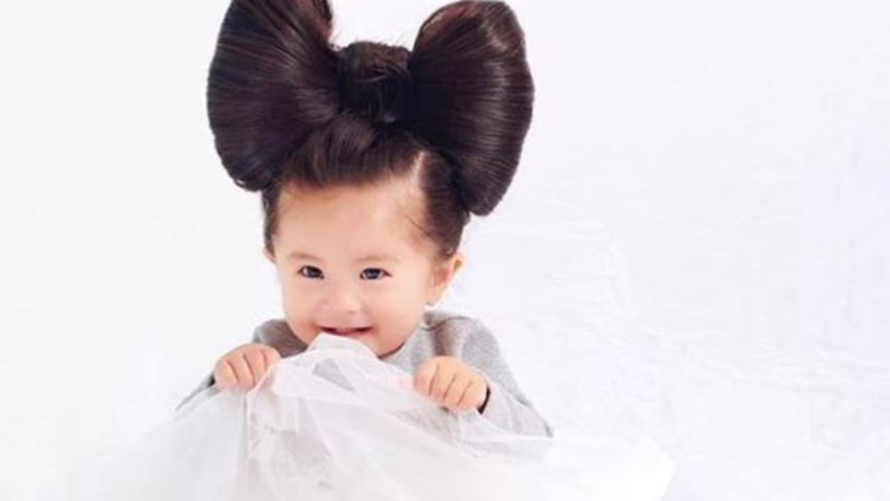 Adorable Baby With Incredible Head Of Hair Is The New Face