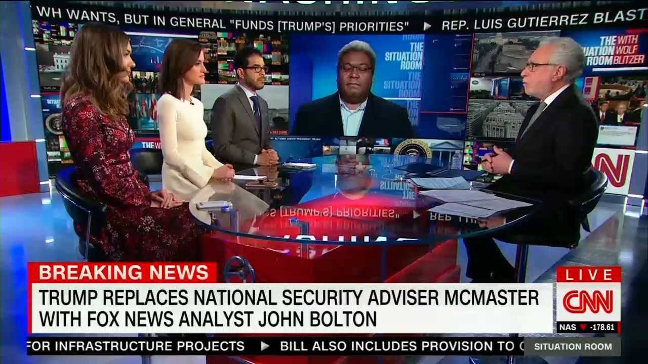 CNN Dismisses John Bolton as TV Personality Hired as ...