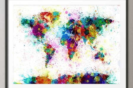 Paint World Electronic Wallpaper Electronic Wallpaper - Paper minecraft jetzt spielen