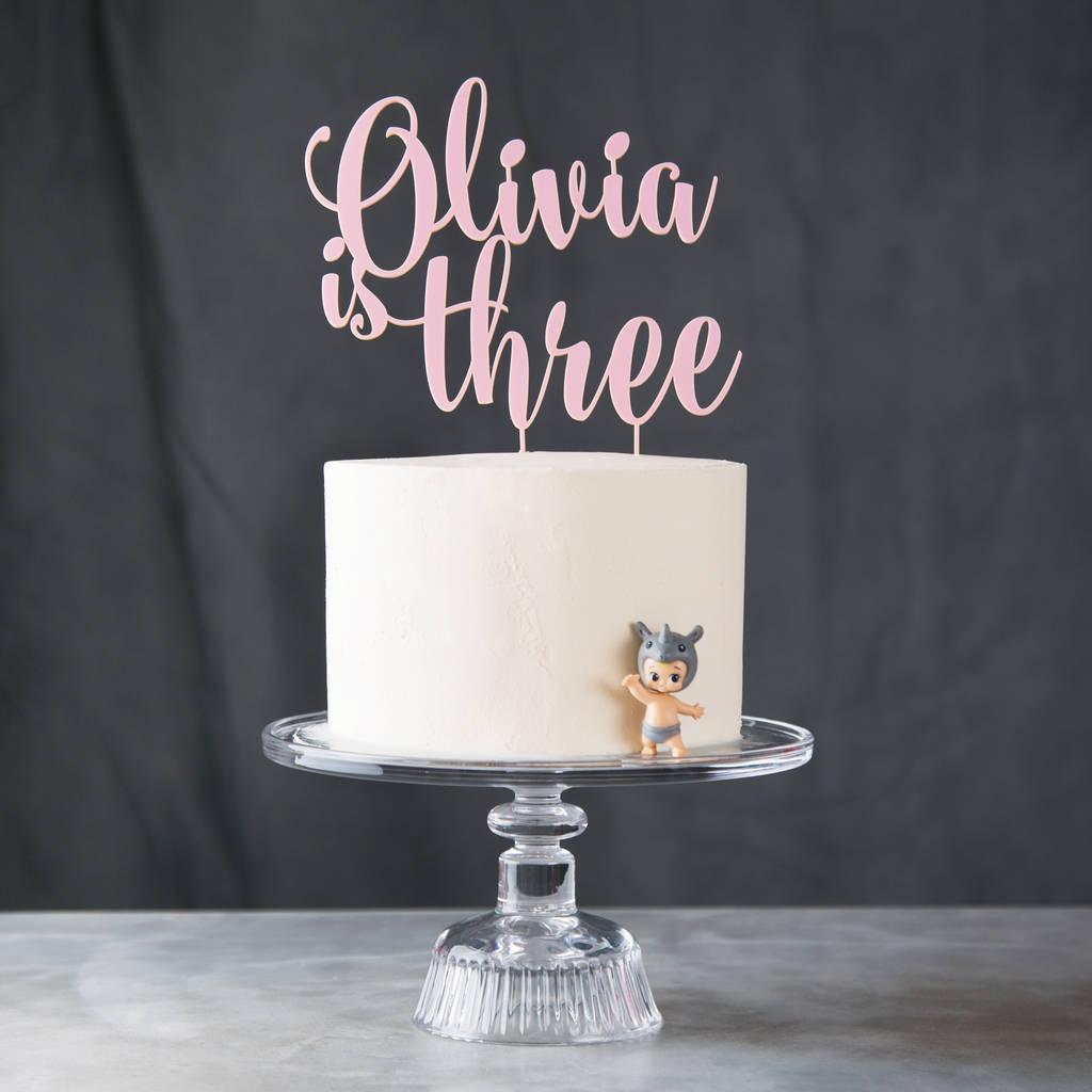 Happy 80th Birthday Cake Topper