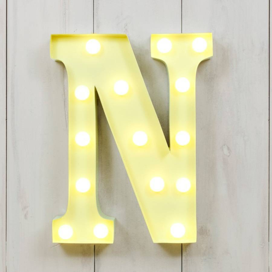 Outstanding Metal Initial Letters Wall Decor Elaboration - The Wall ...