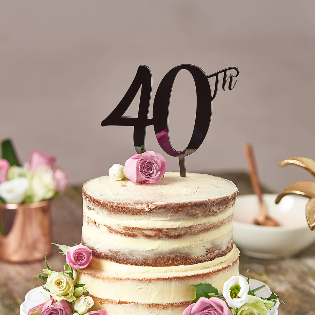 40th Birthday Cake Ideas Her