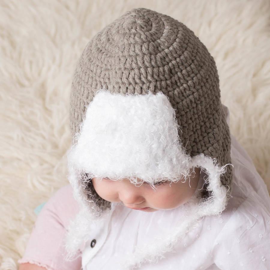 Pattern Crochet Viking Hat Helmet