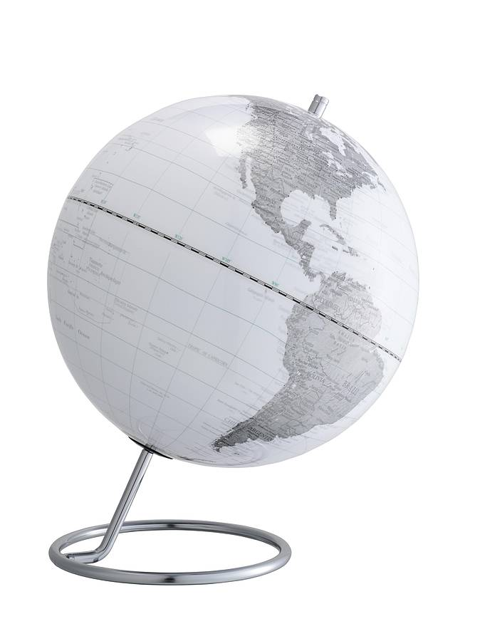 world map globe by authentics   notonthehighstreet com World Map Globe