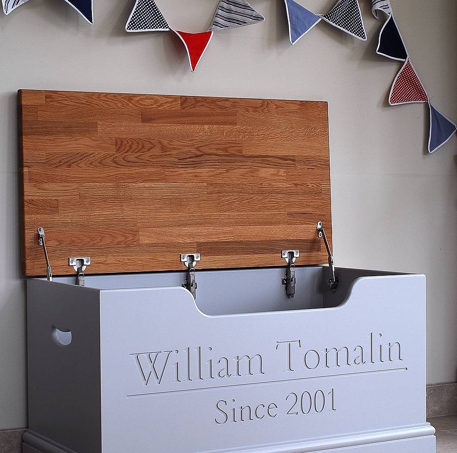 Personalised Toy Box Or Storage Chest By Chatsworth