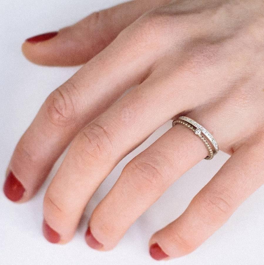Skinny Diamond Eternity Ring By Alison Macleod Notonthehighstreet Com